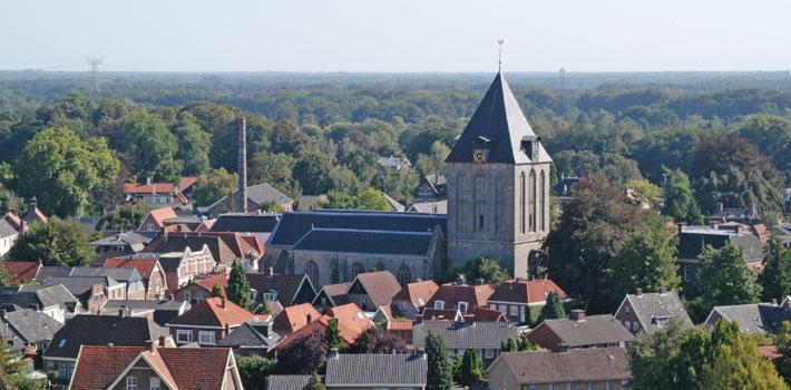 Het historisch Stad Delden
