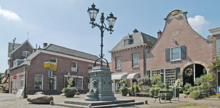 Historische centrum van Delden