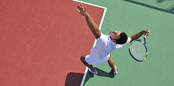 Diverse (overdekte) tennisbanen