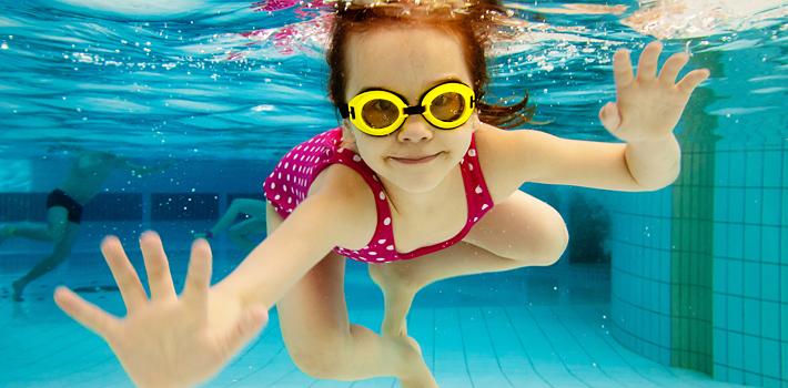 diverse verwarmde zwembaden